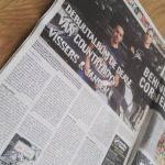 Krantenartikel Behind the Corner over Vissers & Jansen